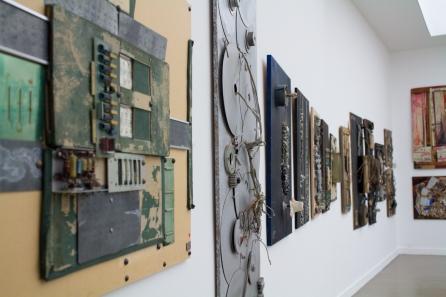 Exposition Pierre Henry au Musée d'art moderne de la ville de Paris | photo © alain walther | D.R. oeuvre artiste et ayants droits.